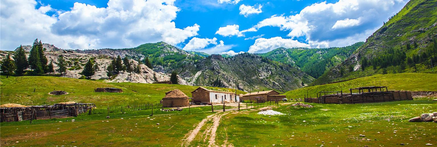 大美新疆——穿梭在西域的草原之上