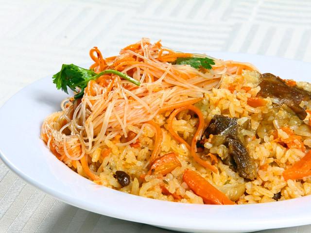新疆美食-抓饭