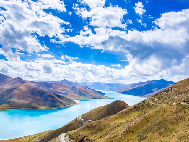 冬日里的羊湖