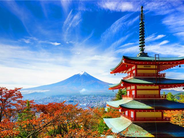 下半年境外游热门目的地——日本